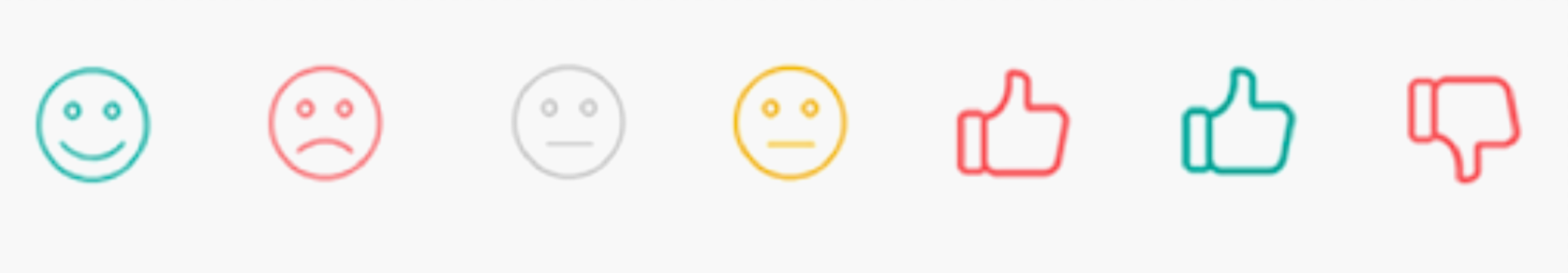 Ethnio NPS emojis